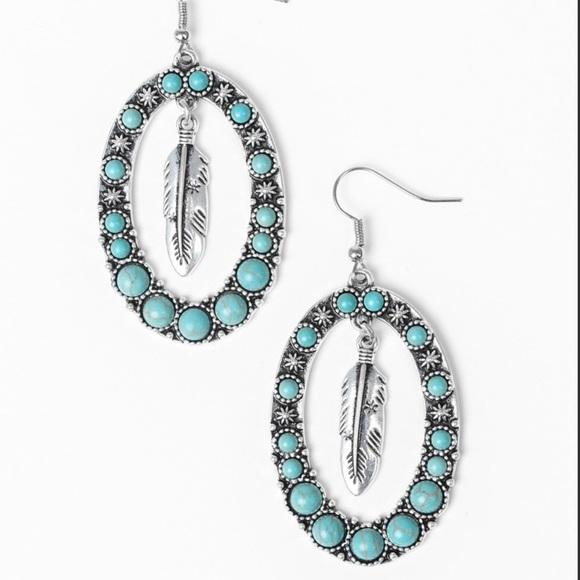 J71 Blue earrings